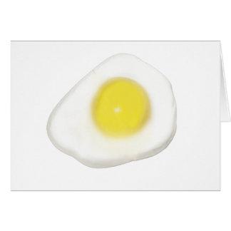 Huevo frito tarjetón