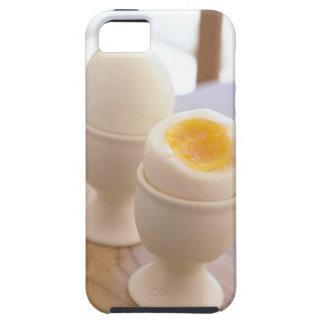 Huevo hervido iPhone 5 fundas