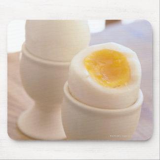 Huevo hervido alfombrillas de raton