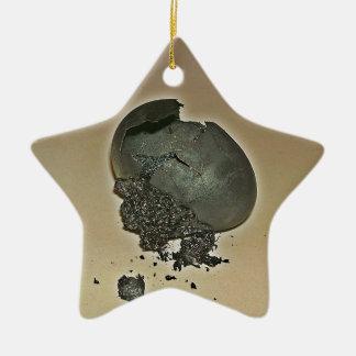 Huevo Noir Adorno De Cerámica En Forma De Estrella