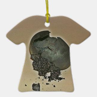 Huevo Noir Adorno De Cerámica En Forma De Camiseta
