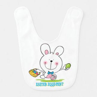 Huevo-pert de Pascua Babero De Bebé