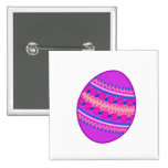 Huevo pintado púrpura
