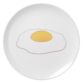 Huevo Plato De Comida