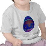 Huevo púrpura camiseta
