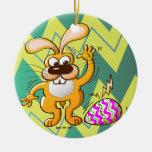 Huevo que se agrieta de Pascua Ornamentos De Navidad