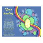 Huevo y arco iris, aviador folleto 21,6 x 28 cm