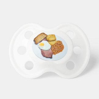 Huevo y habas del Gammon Chupetes De Bebé