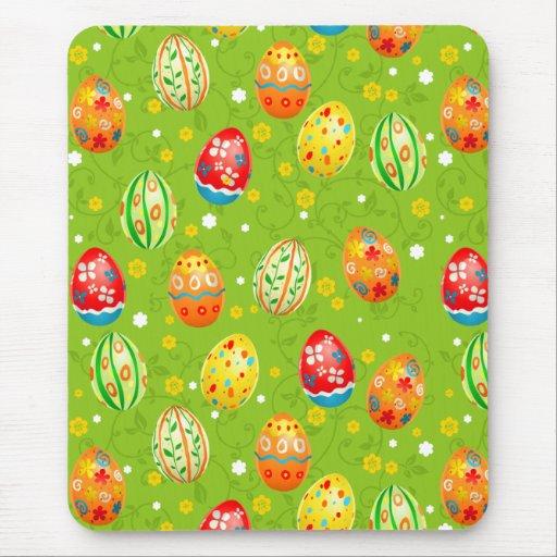 Huevos adornados florales de Colourfol Alfombrillas De Ratones