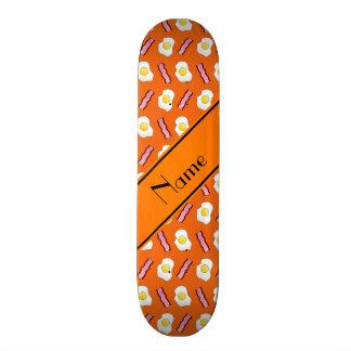 Huevos anaranjados conocidos personalizados del tabla de patinar