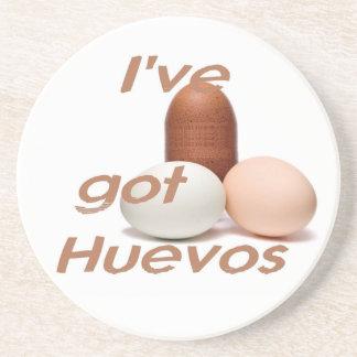 HUEVOS Coaster