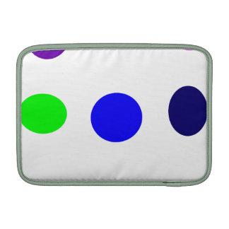 Huevos coloreados fundas macbook air