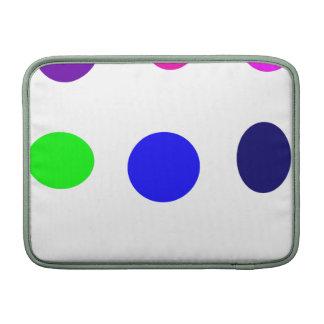 Huevos coloreados funda para macbook air