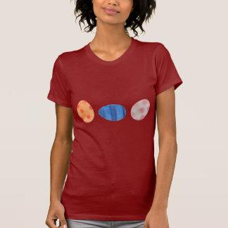 Huevos coloridos camiseta
