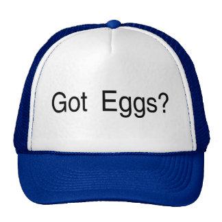 Huevos conseguidos gorro de camionero