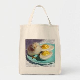 Huevos de Deviled y el polluelo Bolsas
