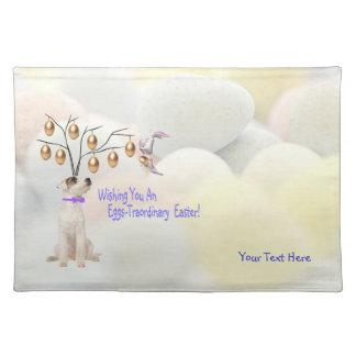 Huevos de Jack Russell - deseos de Traordinary Pas Mantel