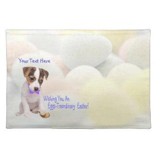 Huevos de Jack Russell - deseos de Traordinary Pas Mantel Individual