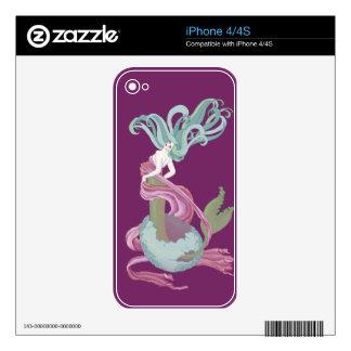 Huevos de la sirena iPhone 4 skin