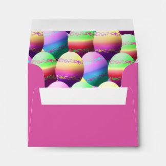 Huevos de Pascua adornados coloridos Sobres