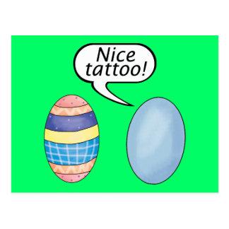 Huevos de Pascua agradables del tatuaje