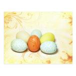 Huevos de Pascua bonitos Postal
