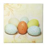 Huevos de Pascua bonitos Tejas Cerámicas
