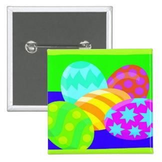 Huevos de Pascua - botón Pin