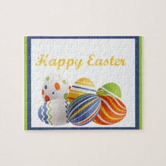 Huevos de Pascua brillantes Puzzle