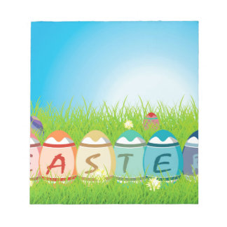 Huevos de Pascua coloreados Bloc