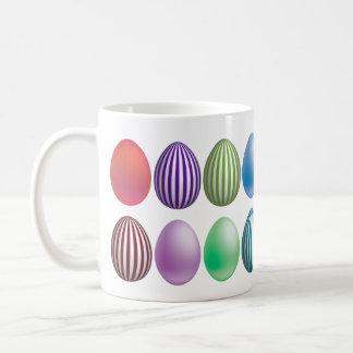 Huevos de Pascua coloreados en desfile - taza 1