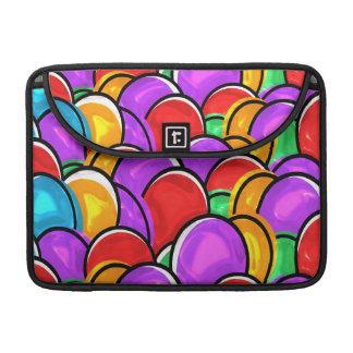 Huevos de Pascua coloreados Fundas Para Macbook Pro
