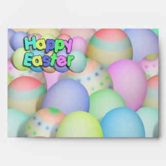 Huevos de Pascua coloreados - Pascua feliz