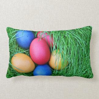 Huevos de Pascua coloridos Almohadas