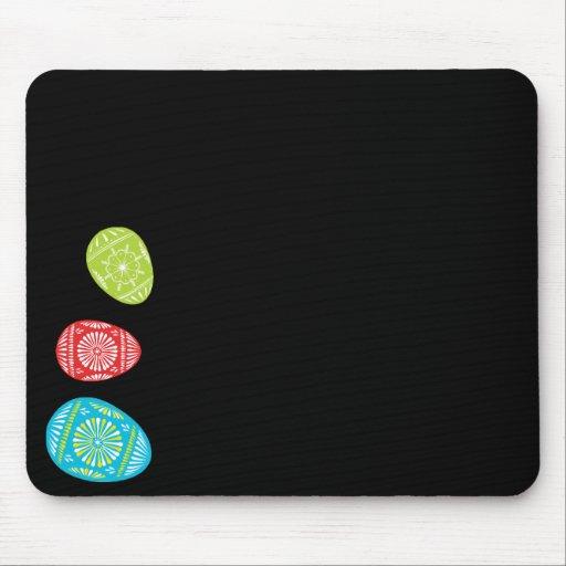 Huevos de Pascua coloridos Mousepad 2