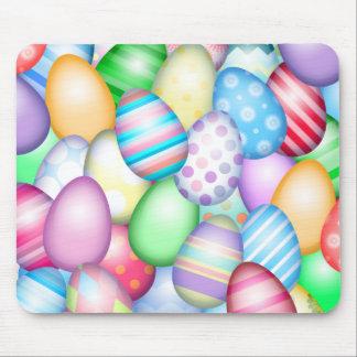 Huevos de Pascua coloridos Tapete De Ratón