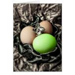 Huevos de Pascua con clase Felicitacion