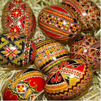 Huevos de Pascua del rumano Escultura Fotografica