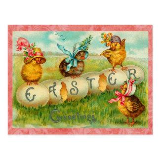 Huevos de Pascua del vintage Tarjetas Postales