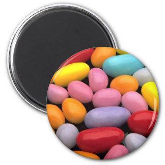 Huevos de Pascua deliciosos del azúcar Imán Redondo 5 Cm