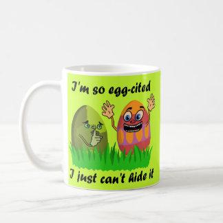 Huevos de Pascua divertidos Tazas De Café