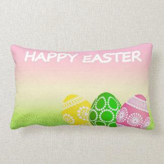 Huevos de Pascua felices Cojín