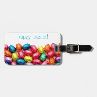 Huevos de Pascua felices Etiquetas Bolsa