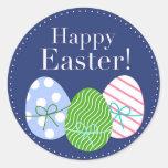 Huevos de Pascua felices Etiquetas