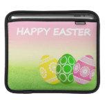 Huevos de Pascua felices Mangas De iPad