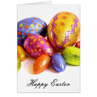 huevos de Pascua felices Tarjeta De Felicitación