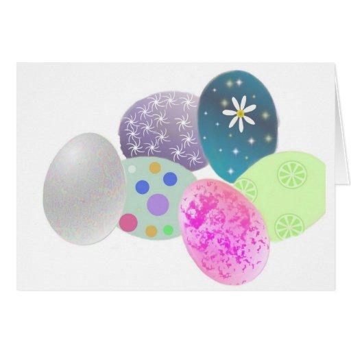 Huevos de Pascua Felicitación