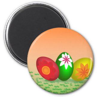 Huevos de Pascua Imán Redondo 5 Cm