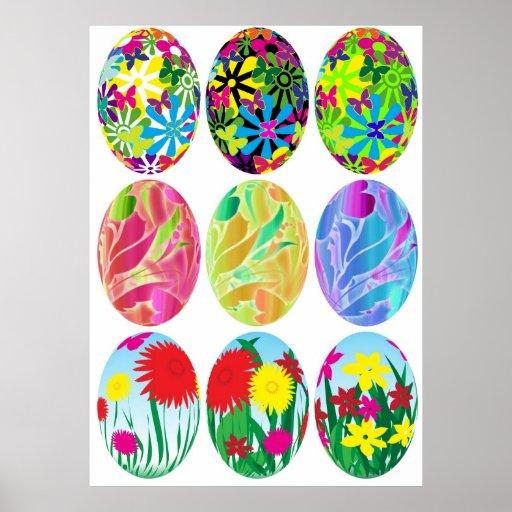 Huevos de Pascua Impresiones