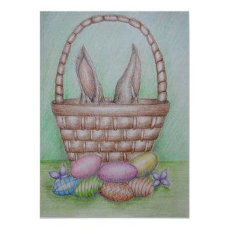 """huevos de Pascua Invitación 4.5"""" X 6.25"""""""